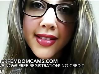 Femdom BDSM Sadictic Kinky Mistress Seduces & Humiliates Slave Boy