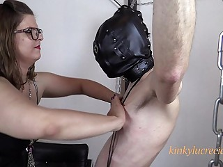 Tied-up and tortured