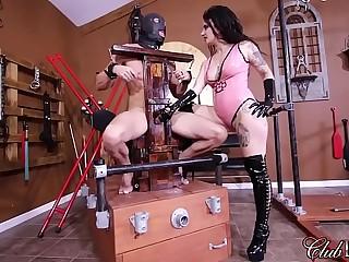 FemDom Goddess Loves To Inflict Punishment