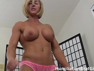 Goddess Rapture wants to bust YOUR balls
