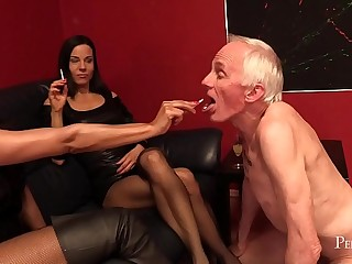 Cocktail Time - Ashtray for Mistress Mera and Lady G