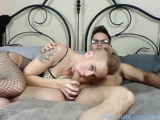 Cam Sessions : Episode 1 With MILF Mistress E and Pornstar Nicky Rebel