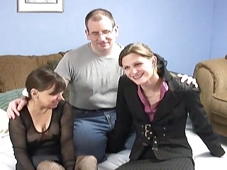 couple and young mistress