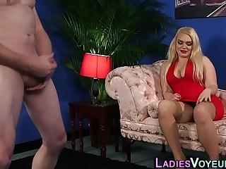 Hot heeled mistress smile