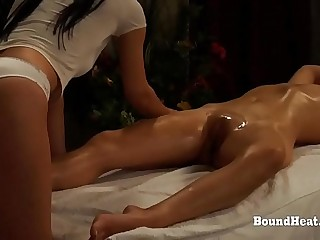 The Submission of Sophie: Orgasmic Oily Massage With Mistress