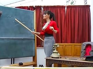 Sexy Headmaster MILF gives joi detention - myfuckingwebcam.com