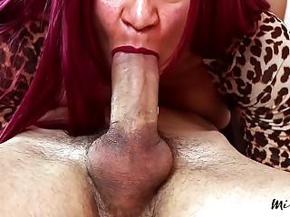 MissFluo - edging job & throbbing oral A38