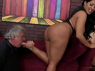 Kiara Mia Femdom HD; femdom, ass-lick, foot, fetish, big-ass, big-tits, hardcore, oral, bruntte, hd,
