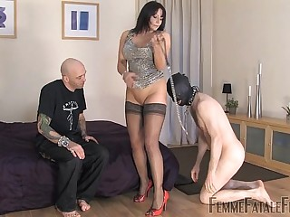 Carly's Cuckold part1 - Mistress Carly - FemmeFataleFilms - FemDom Sex
