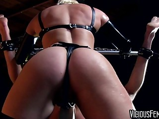 Ash Hollywood Femdom Strapon with Lance Hart