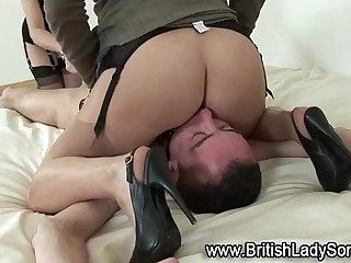 Mature femdoms bondage face sitting