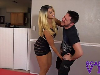 SCARLET STONE HARD BALLBUSTING AND FEMDOM FOR JASON NINJA