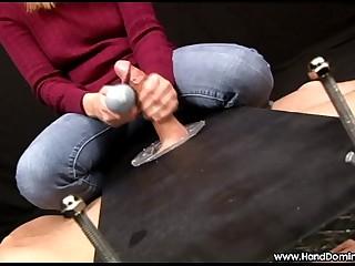 HandDomination femdom handjob